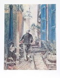 Old Man Collectable Print by William Collier