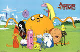 Adventure Time Group Posters