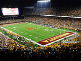 University of Minnesota - Night Game in TCF Bank Stadium Photographic Print