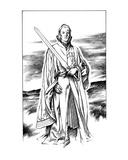 Siegfrieds Ghost (Revenge of the Vampire, Illustration no. 22) Premium Giclee Print by Martin Mckenna