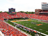 University of Illinois - The Horseshoe at Memorial Stadium Photographic Print