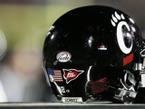 University of Cincinnati - Cincinnati Football Helmet Poster