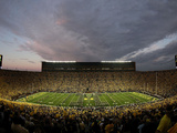 University of Michigan - Notre Dame vs Michigan Fotografisk tryk