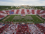 University of Arkansas - Razorback Spirit at War Memorial Stadium Print