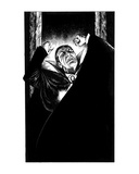 The Count (Revenge of the Vampire, Illustration no. 27) Premium Giclee Print by Martin Mckenna