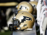 Purdue University - Purdue Helmet Photographic Print
