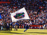University of Florida - Florida Flag Photographic Print