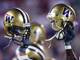 University of Washington - Washington Helmet Raise Photographic Print by Max Waugh