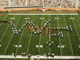 Wake Forest University - Wake Forest Band at BB&T Field Photographic Print