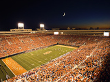 Oklahoma State University - Boone Pickens Stadium under the Lights Fotografisk tryk