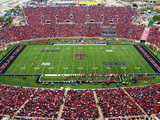 Texas Tech University - House of Red Photographic Print by Michael Strong