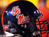 University of Mississippi (Ole Miss) - Ole Miss Football Helmet Photographic Print