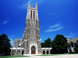 Duke University - Cornerstone of Campus Photographic Print