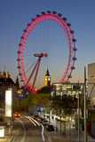 London Eye Photographic Print by Charles Bowman