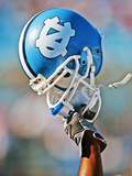 University of North Carolina - UNC Football Helmet Photographic Print