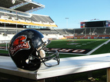 Oregon State University - Oregon State Football Helmet at Reser Stadium Photographic Print