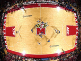 University of Maryland - Maryland Basketball in the Comcast Center Fotografisk tryk