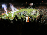 University of Miami - Game Night at the Orange Bowl Photographic Print