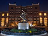 Florida State University - Chief Osceola Statue Foto von Mike Schwarz