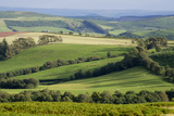 Wales landscape Fotoprint van Charles Bowman