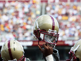 Boston College - Boston College Helmet Photographic Print by John Quackenbos