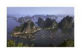 Ha Long Bay Vietnam viewed from above Photographic Print by Charles Bowman