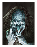 Blue Witch Premium Giclee Print by Martin Mckenna
