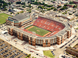 Oklahoma State University - Pickens Stadium Aerial Photographic Print