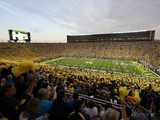 University of Michigan - Wolverine Fans Pack the Big House Prints