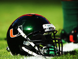 University of Miami - Miami Helmet Photo by Steven Murphy
