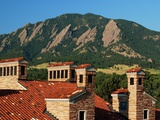 University of Colorado - Italian Roof Cupolas Photo