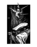Death Imp (Revenge of the Vampire, Illustration no. 29) Premium Giclee Print by Martin Mckenna