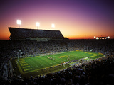 Louisiana State University - LSU's Tiger Stadium Fotografisk tryk