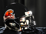 Oregon State University - Beaver Football Helmet Photographic Print