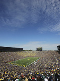 University of Michigan - Football Game Day in Ann Arbor Photographic Print