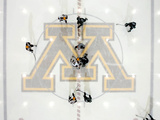 University of Minnesota - Minnesota Hockey at Mariucci Rink Fotografisk tryk