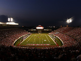 University of Louisville - Papa John's Stadium Night Game Fotografisk tryk