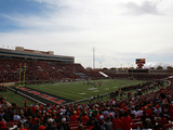 Texas Tech University - Texas Tech Football Fotografisk tryk