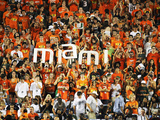 University of Miami - Miami Student Section Photographic Print