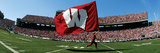University of Wisconsin - The Flag Flies at UW Poster by  Madison / University Communications