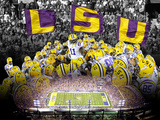 Louisiana State University - LSU Collage Prints