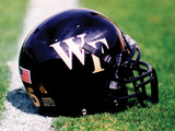 Wake Forest University - Wake Forest Football Helmet Photographic Print by Brian Westerholt