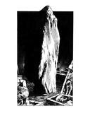 Monolith (Revenge of the Vampire, Illustration no. 15) Premium Giclee Print by Martin Mckenna