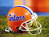 University of Florida - Florida Gators Football Helmet Photographic Print