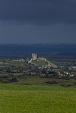 Corfe Castle Photographic Print by Charles Bowman