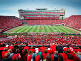 University of Nebraska - Memorial Stadium Fotografisk tryk