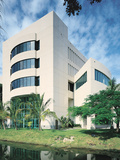 University of Miami - Business Administration Building at Miami Photographic Print
