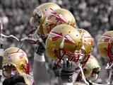 Florida State University - Florida State Football Helmets Foto von Mike Olivella