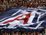 University of Arizona - Fans Fly Arizona Flag Photographic Print