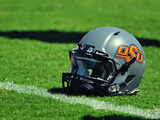 Oklahoma State University - Oklahoma State Football Helmet Photographic Print
